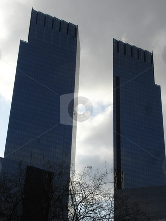 Time Warner Tower in New York stock photo,  by Ritu Jethani