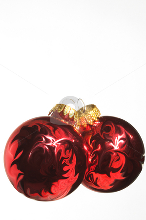 Christmas Ornament stock photo, A very colorful Christmas ornamental glass ball. by Robert Byron