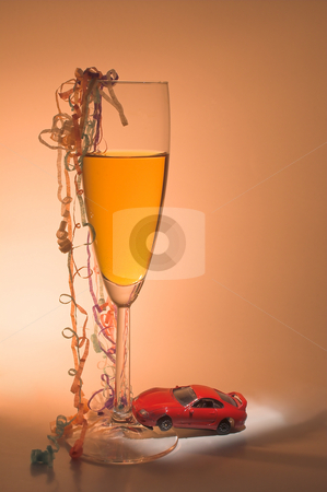 Driving Under The Influence stock photo, The concept if driving under the influence of alcohol. by Robert Byron