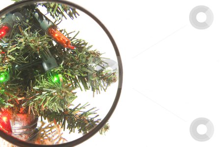Christmas Tree Lights stock photo, Bright, colorful and festive Christmas tree lights. by Robert Byron