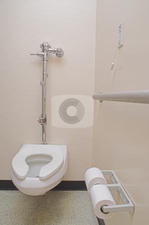 Hospital Patient Bathroom stock photo, The private bathroom of a hospital patient. by Robert Byron