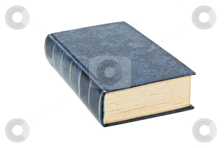 Hard cover book isolated  stock photo, Hard cover book isolated on white background. by Pablo Caridad