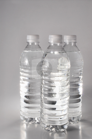 Bottled Water stock photo, Fresh spring mineral water in a plastic bottle. by Robert Byron