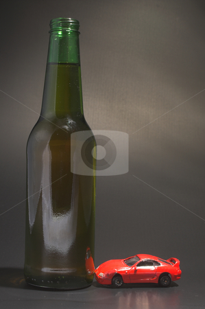 Driving Under The Influence stock photo, Yhe concept if driving under the influence of alcohol. by Robert Byron