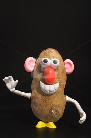 Potato Man stock photo, A potato who thinks he is a man. by Robert Byron