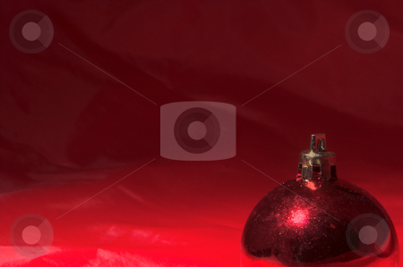 Christmas Tree Decoration stock photo, A festive holiday tree decoration for Christmas. by Robert Byron