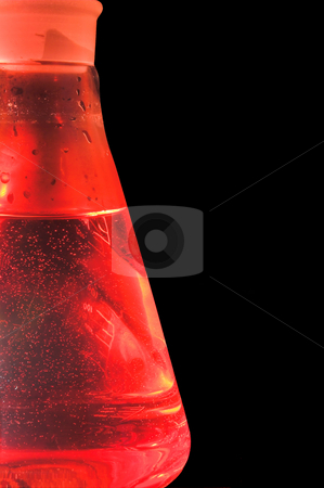 Laboratory Beaker stock photo, A tempered glass beaker used in a research laboratory. by Robert Byron