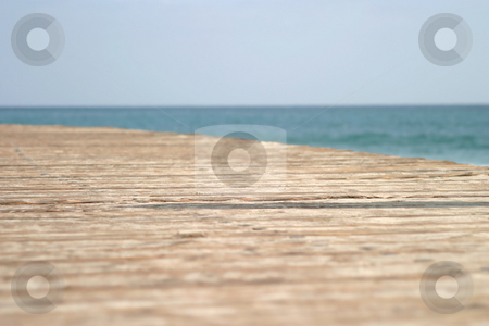 Beach Walk stock photo, Boardwalk at the beach in Laguna Beach California by Henrik Lehnerer