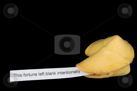 Fortune Cookie stock photo, A very interesting chinese fortune cookie message. by Robert Byron
