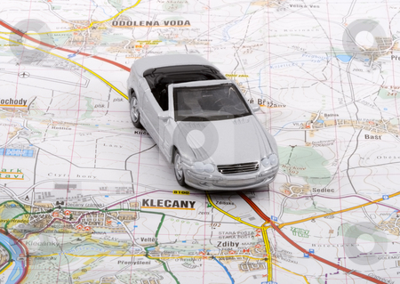 Car Trip stock photo, When a car trip is going to take place, the proper planning is necessary by Petr Koudelka