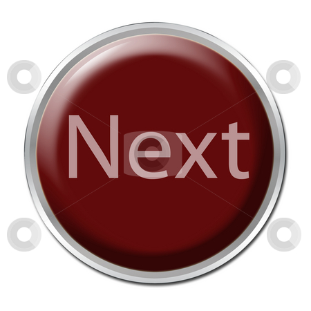 Next Button stock photo, button with the word