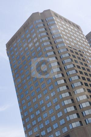Skyscraper stock photo, Close up view of a modern skyscraper by Vlad Podkhlebnik
