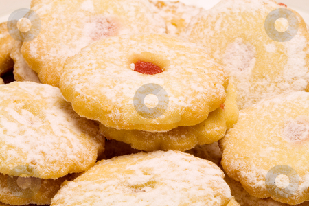 Christmas Pastry stock photo, Christmas pastry - seasonal food - sweet - close up by Petr Koudelka