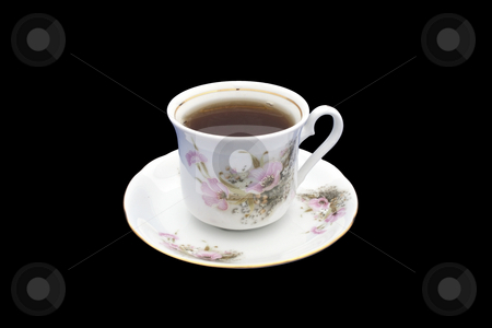 Cup of Tea stock photo, Isolated cup of hot tea suitable for magazines etc... by Petr Koudelka