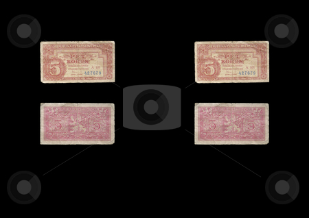 5 KCS stock photo, This banknote was used in old Czechoslovakia. by Petr Koudelka