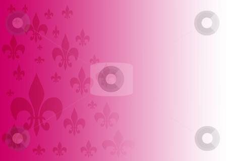 Background Fleur-de-lis stock photo, Purple and white gradient background with Fleur-de-lis by Petr Koudelka