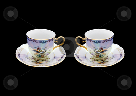 Couple of Cups stock photo, A couple of cups waiting for a couple of people. by Petr Koudelka