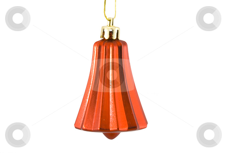 Christmas Decoration stock photo, A christmas ornament - seasonal decoration - isolated - close up by Petr Koudelka