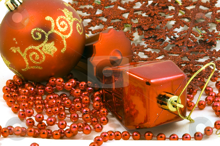 Christmas Decoration stock photo, A christmas ornament - seasonal decoration - close up by Petr Koudelka