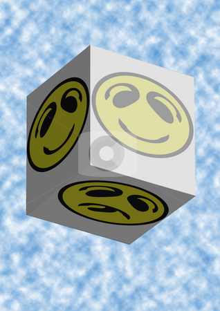 Smiley Faces Coming stock photo, Smiley Faces Coming in a box by Petr Koudelka