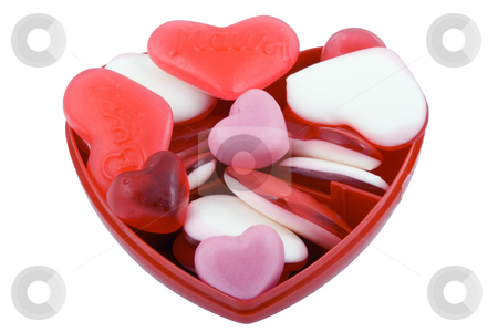 Valentine Candy stock photo, Valentine sweets - seasonal food - sweet - close up by Petr Koudelka