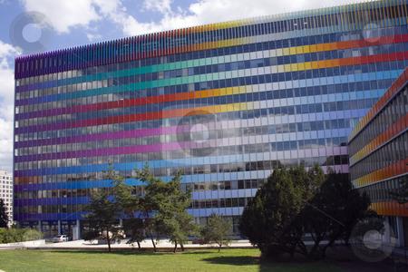 Rainbow Building Kodanska stock photo, Rainbow building - Palace Kodanska - city of Prague by Petr Koudelka