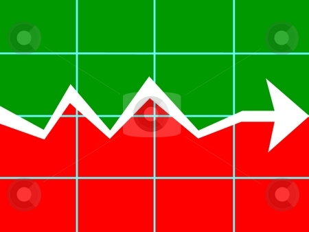 Chart bearish trend stock photo, Image of chart bearish trend by ZaKaRiA- MaStErPiEcE