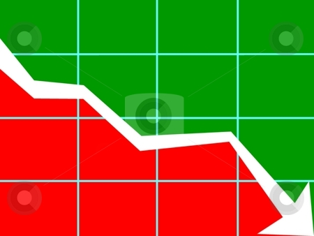 Chart downward trend stock photo, Image of chart downward trend by ZaKaRiA- MaStErPiEcE