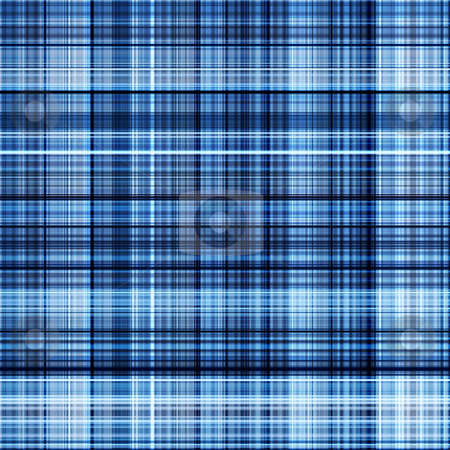 Glowing lines blue grid pattern abstract background. stock photo, Glowing lines blue grid pattern abstract background. by Stephen Rees