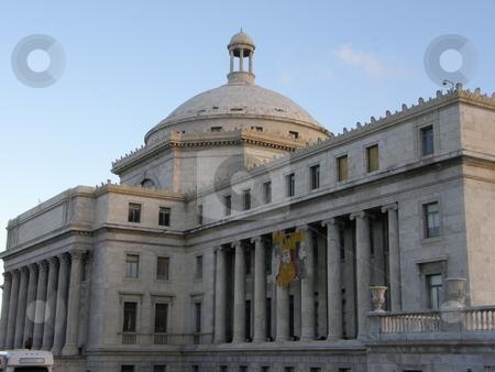 Puerto Rico Capitol in San Juan stock photo,  by Ritu Jethani