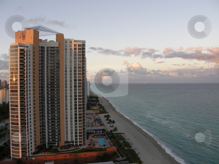 Miami Skyline in Florida stock photo,  by Ritu Jethani