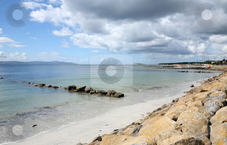 Looking at Galway Bay from Salthill, Ireland. stock photo, Looking at Galway Bay from Salthill, Ireland. by Stephen Rees