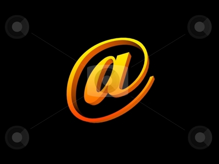 Email symbol stock photo,  by ZaKaRiA- MaStErPiEcE