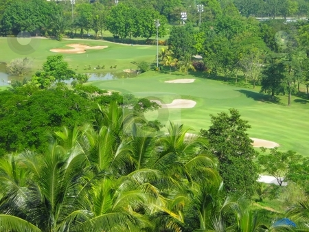 Greenery golf course stock photo,  by ZaKaRiA- MaStErPiEcE