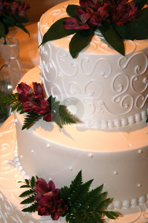 Wedding cake stock photo, Elegant Wedding Cake by MIca Mulloy