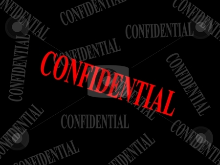 Confidential marking stock photo,  by ZaKaRiA- MaStErPiEcE