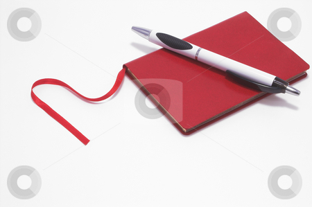 Appointment Book stock photo, An appointment style notebook for daily planning. by Robert Byron