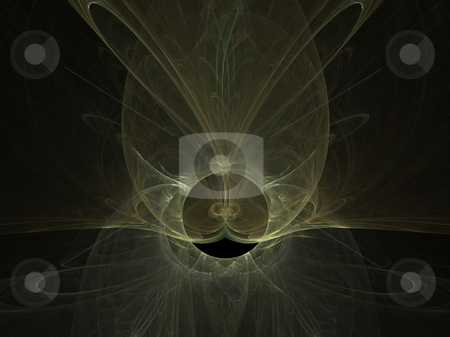 Abstract Background stock photo, Abstract flame on the black background by Petr Koudelka
