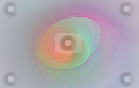 Background stock photo, Abstract spiral flame on the white background by Petr Koudelka