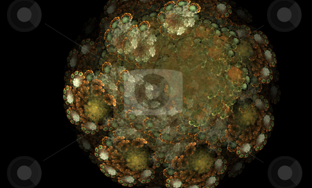 Abstract Background stock photo, Abstract spiral round flame on the black background by Petr Koudelka
