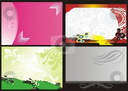 Varied backgrounds stock photo, Vector design elements print, creative backgrounds by Zirbo Ovidiu