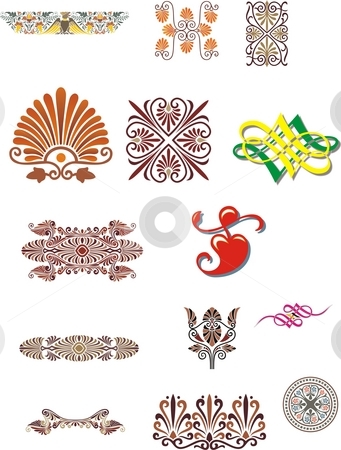 Vector design elements  stock photo, Vector design elements print, creacive by Zirbo Ovidiu