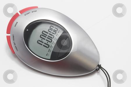 Stop Watch stock photo, A modern digital electronic sports stop watch. by Robert Byron