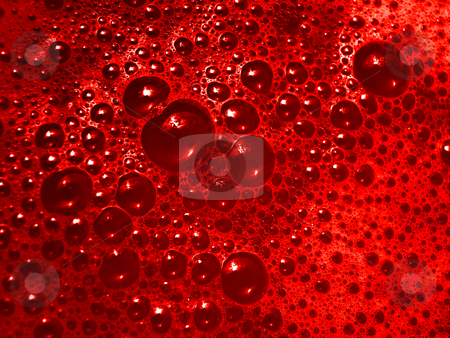Blood bubbles stock photo, Blood  bubbles macro by Laurent Dambies