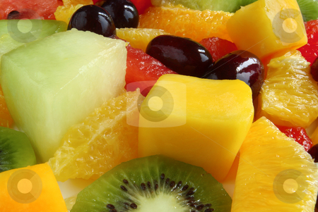 Close up of a fruit salad. stock photo, Close up of a fruit salad. by Stephen Rees