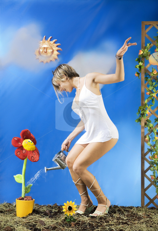 Springtime stock photo, Spring showers brings May Flowers by Luca Mosconi