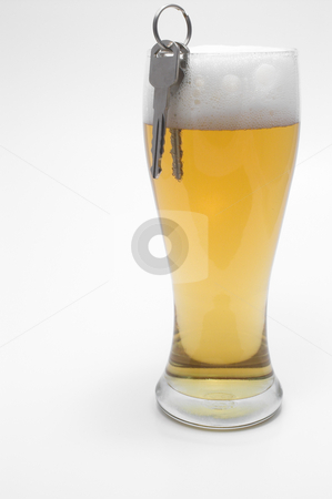 Beer and Car Keys - Drunk Driving Concept  stock photo, Drunk Driving Concept - Beer, and Car Keys by Robert Byron