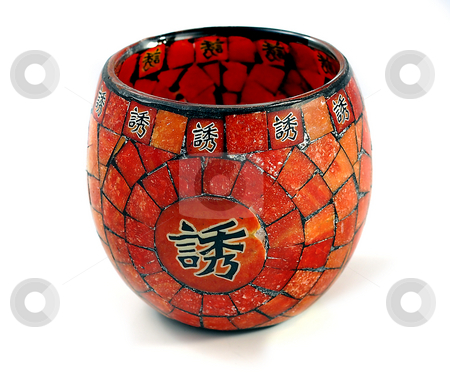 Chinese Candle Holder stock photo, Product Photography: Chinese Candle Holder by Matt Ferrell