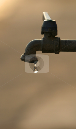 Tap stock photo, Tap against background out of focus by Kjell Westergren