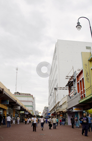 Downtown San Jose, Costa Rica stock photo, Near the Central Market in Downtown San Jose, Costa Rica by Scott Griessel